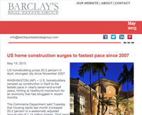May's Real Estate Newsletter